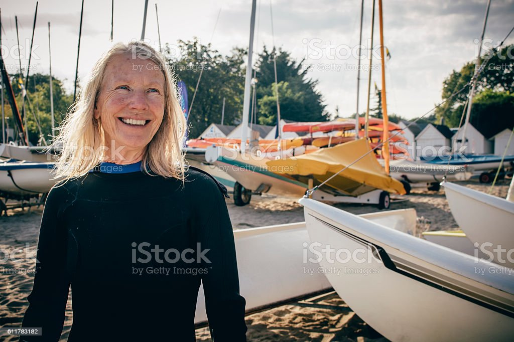 Let's go Sailing stock photo