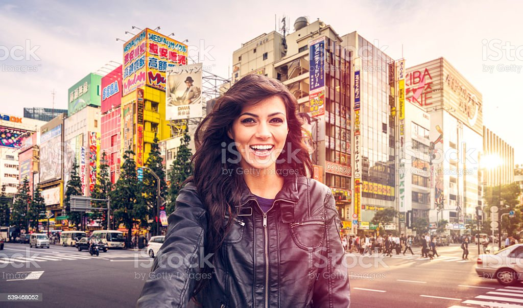 Let's go to Japan! stock photo