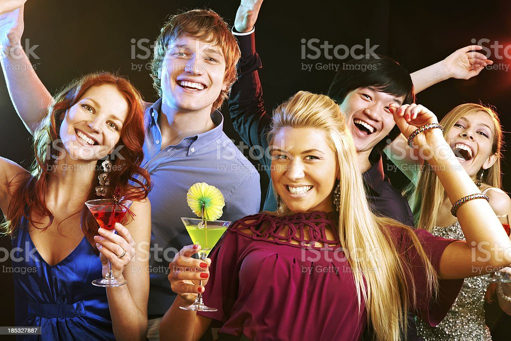Let's have fun with us! royalty-free stock photo