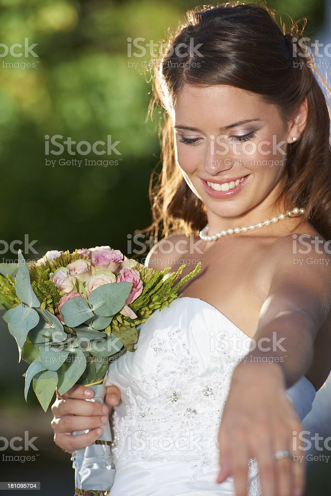 Let's have our first dance royalty-free stock photo