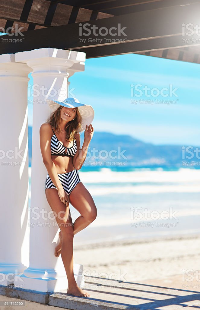 Let's have some fun in the sun stock photo
