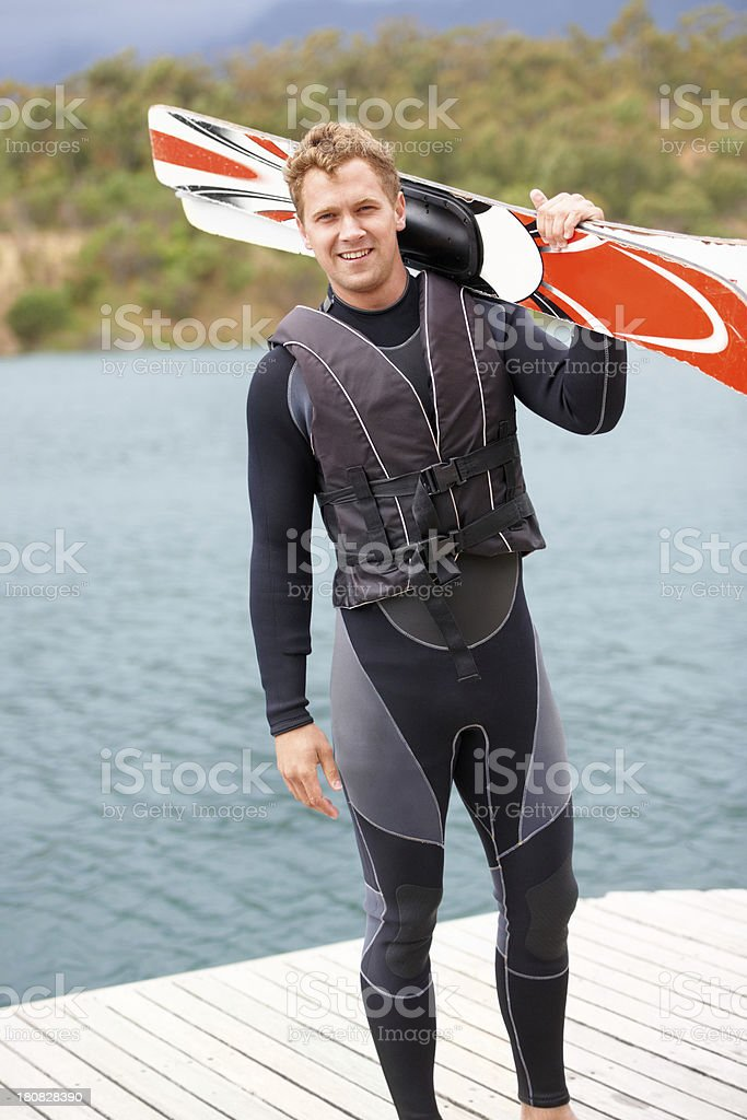 Let's hit the lake! royalty-free stock photo