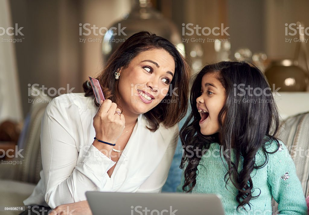Let's learn about responsible spending stock photo