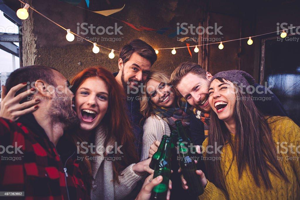 Let's make a selfie stock photo