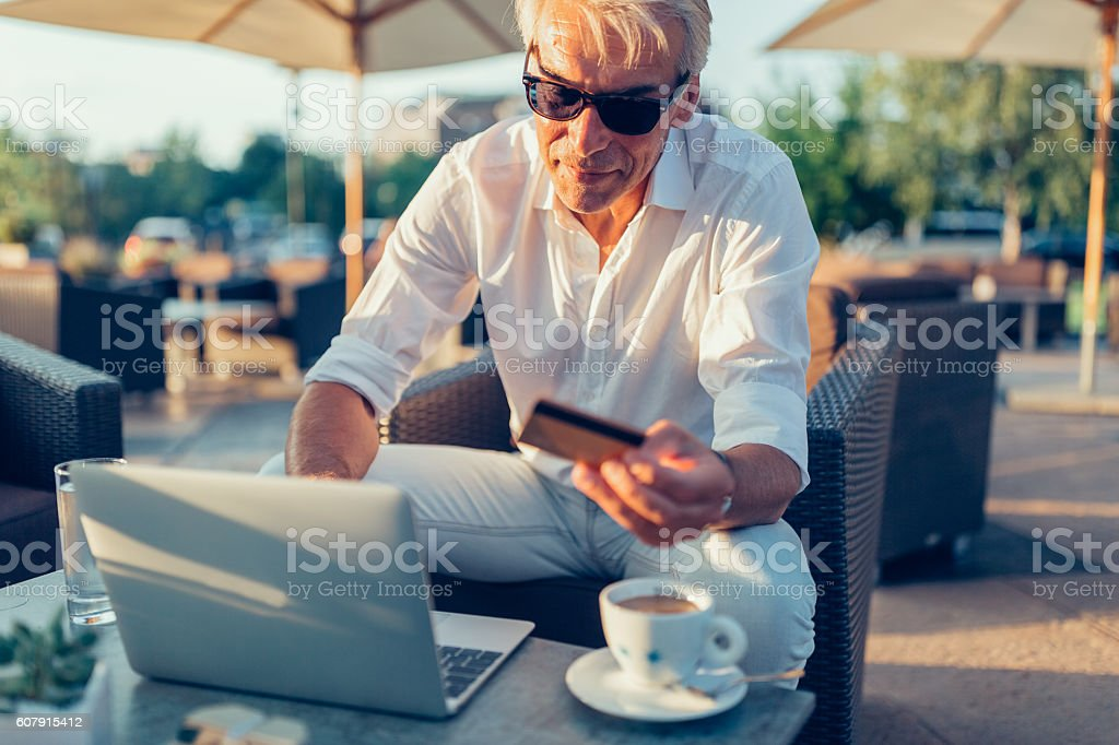 Let's make some online shopping stock photo