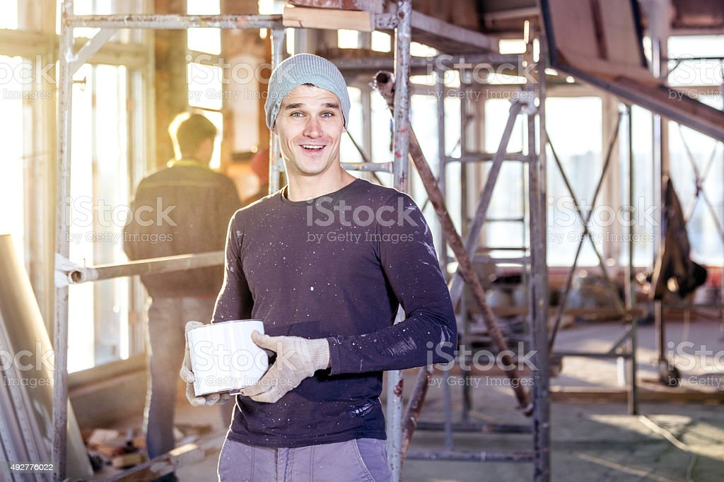 Let's Paint stock photo