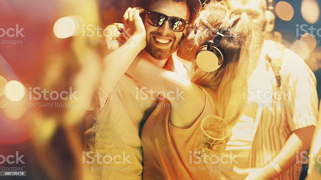 Let's party. stock photo