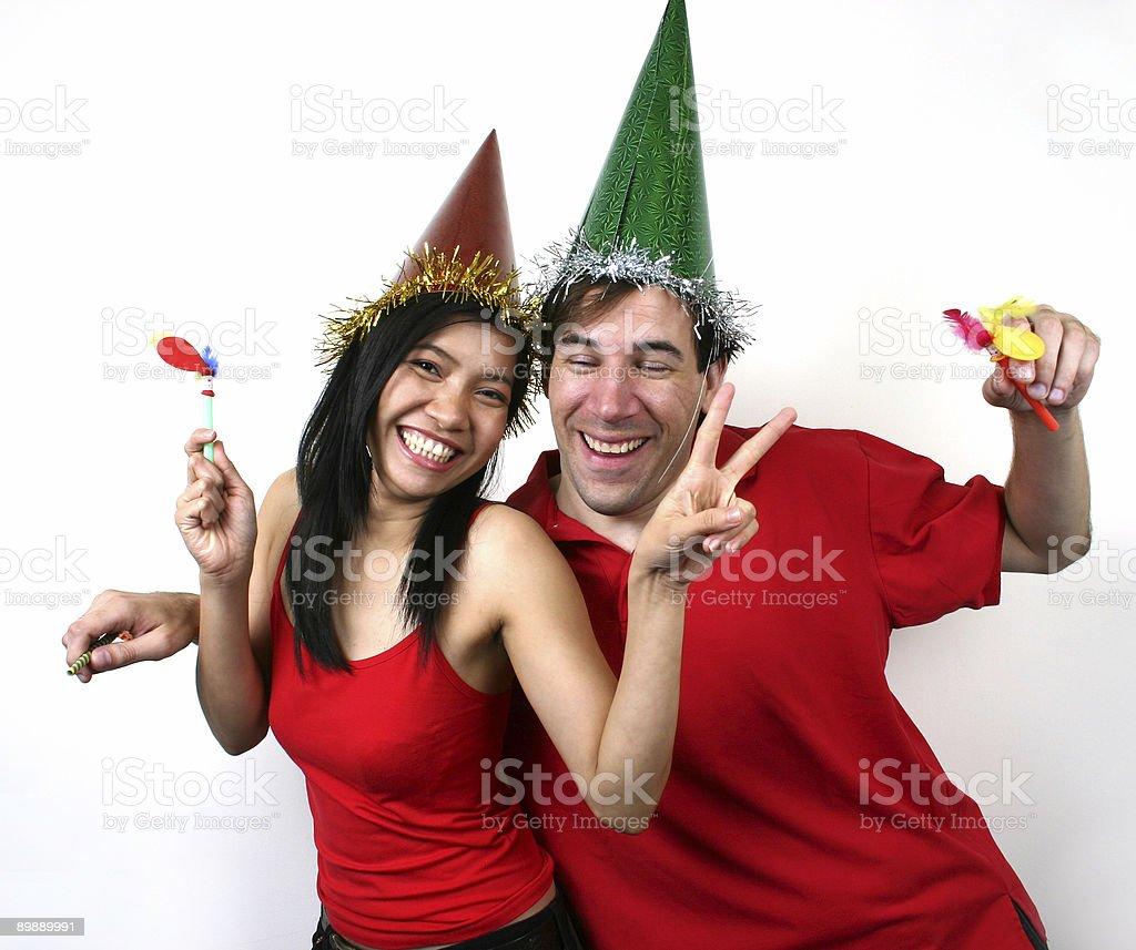Let's party-(Serie Lizenzfreies stock-foto