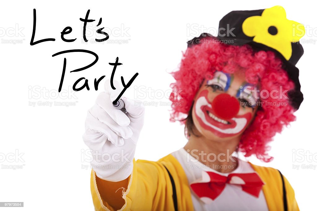 Let's Party royalty-free stock photo
