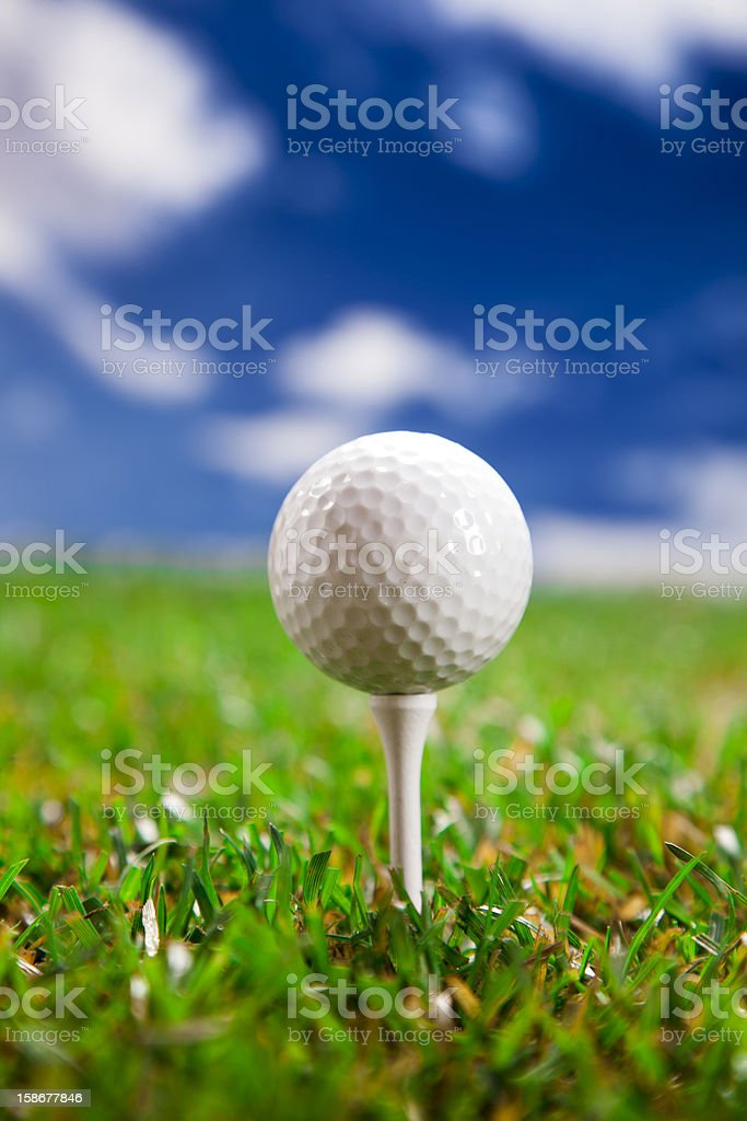 Let's play a round of golf! royalty-free stock photo