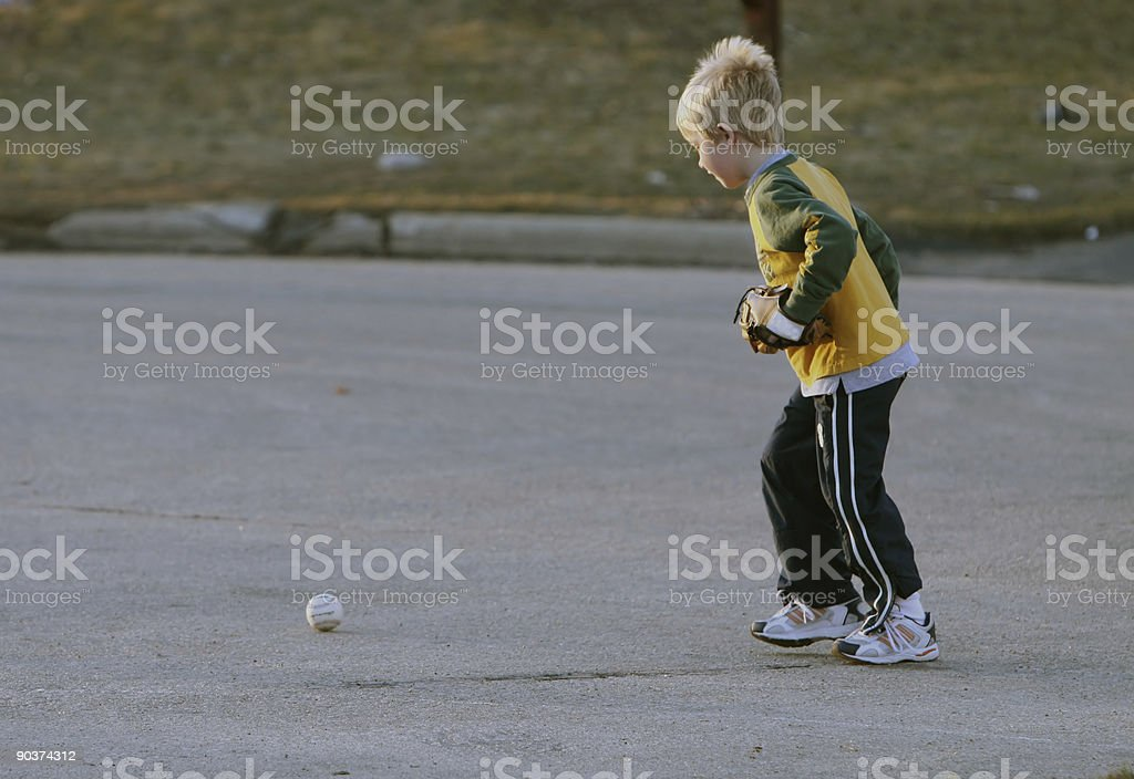 Let's Play Ball royalty-free stock photo