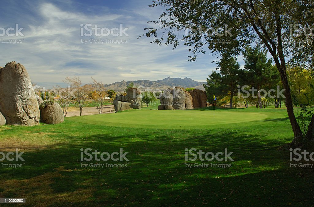 Let's Play Golf stock photo