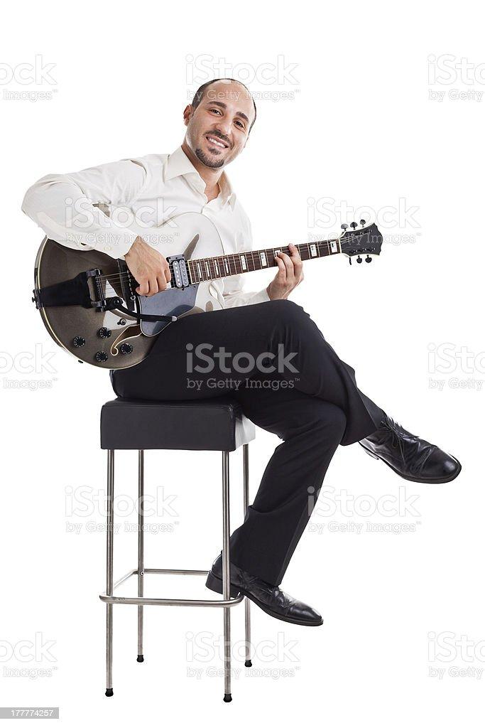 Let's play jazz stock photo