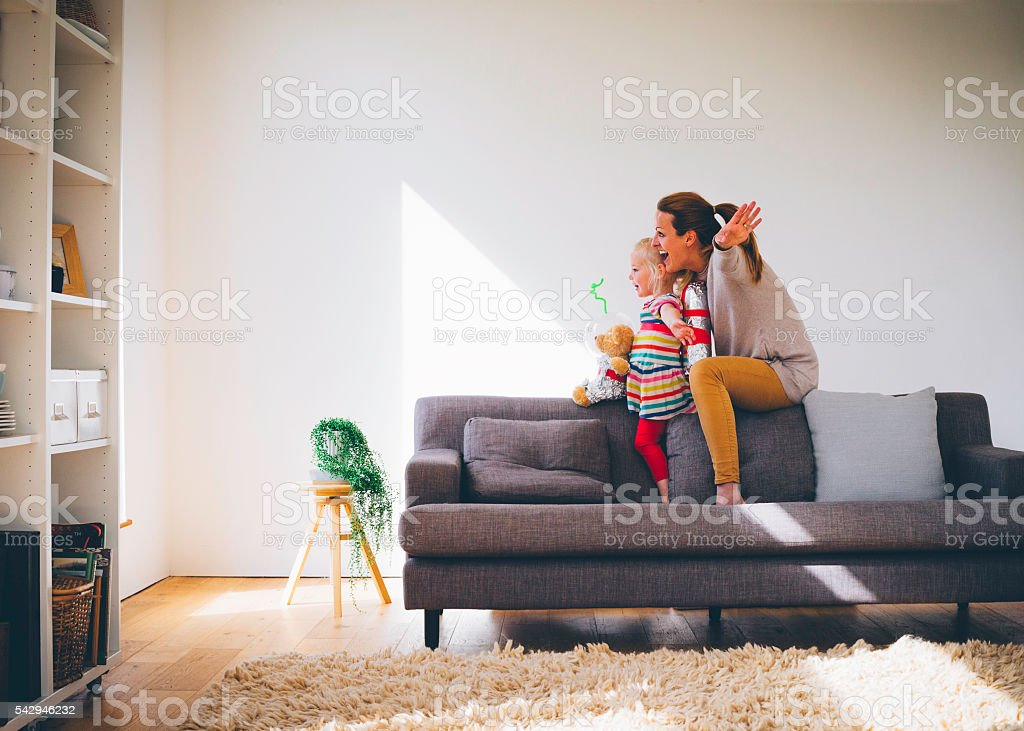 Lets Pretend! stock photo