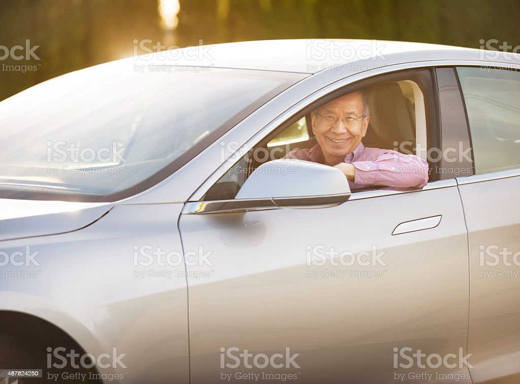 Let's put some miles on this baby! stock photo
