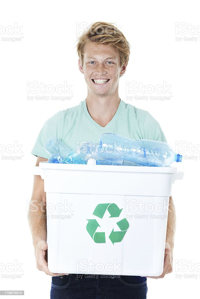 Let's reduce our waste royalty-free stock photo