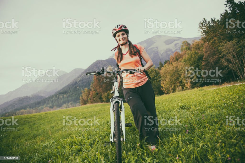 Let's refresh and ride stock photo