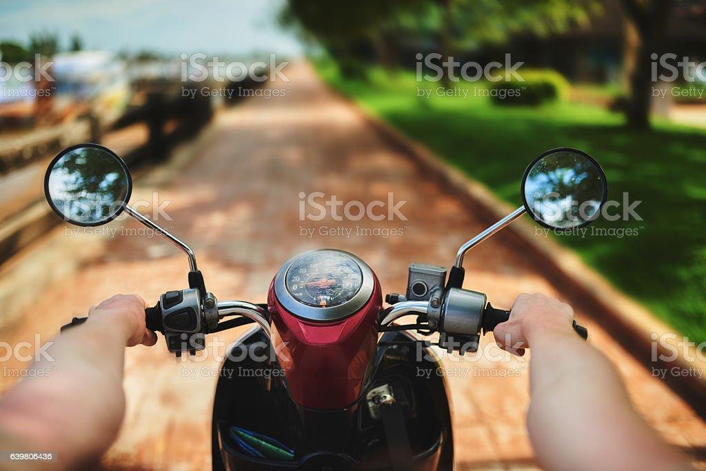 Let's ride! stock photo