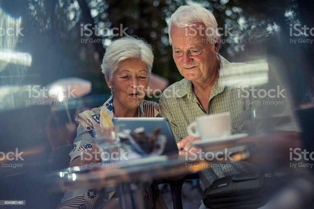 Let's see which movie we will watch tonight stock photo