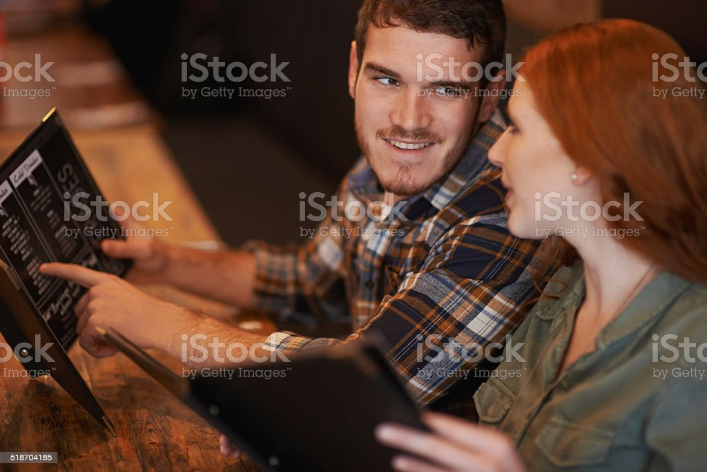 Let's share one stock photo