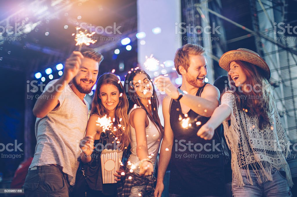 Let's sparkle this day stock photo