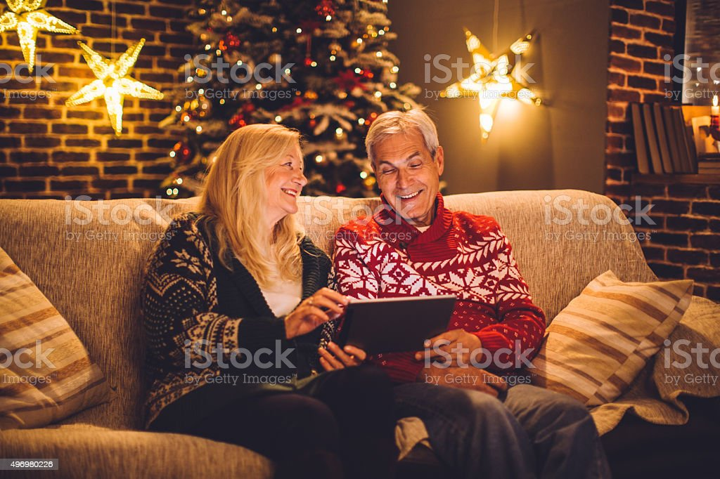Let's spend some money online. stock photo