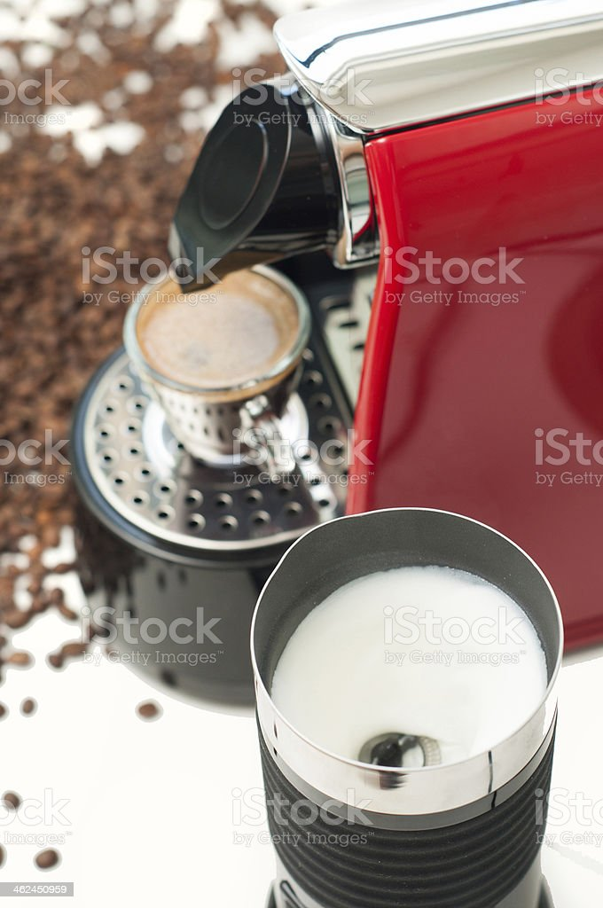 Lets start the day stock photo