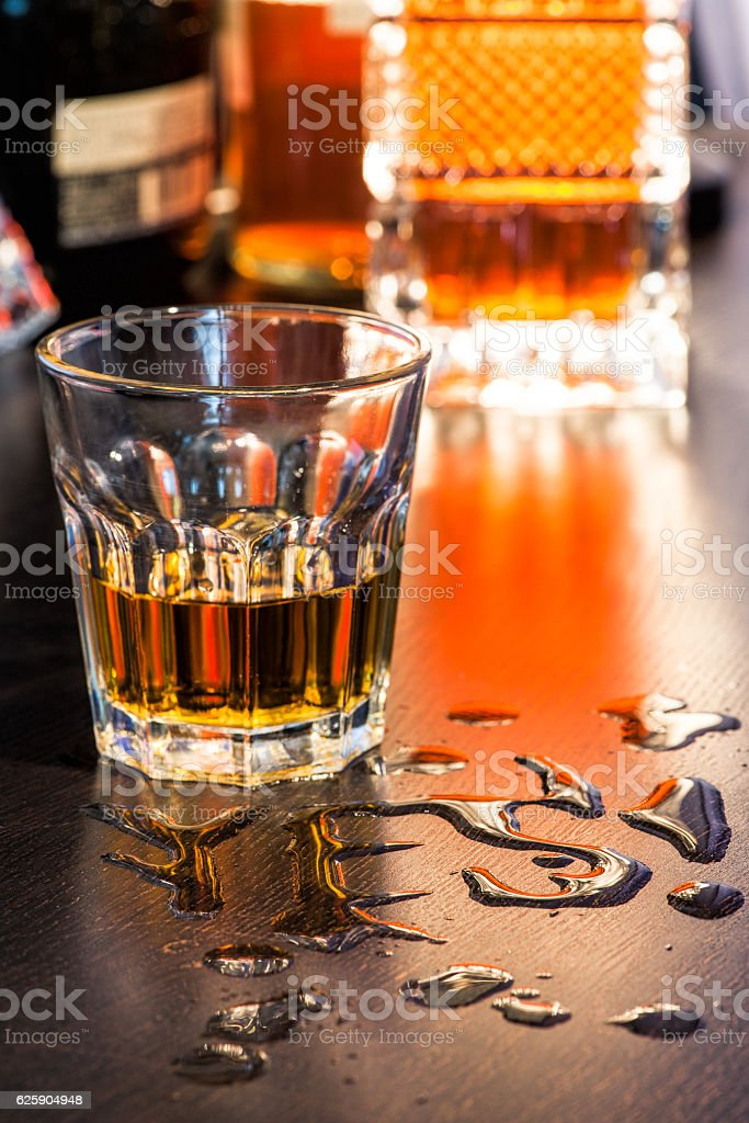 Lets start the party concept stock photo
