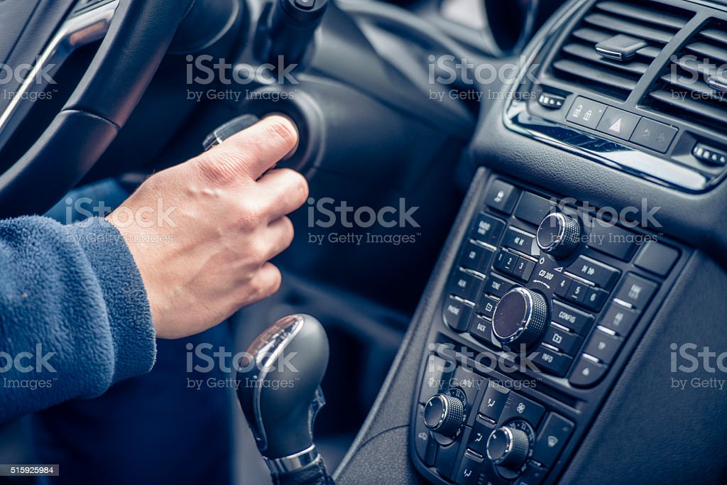 Let's start this thing! stock photo