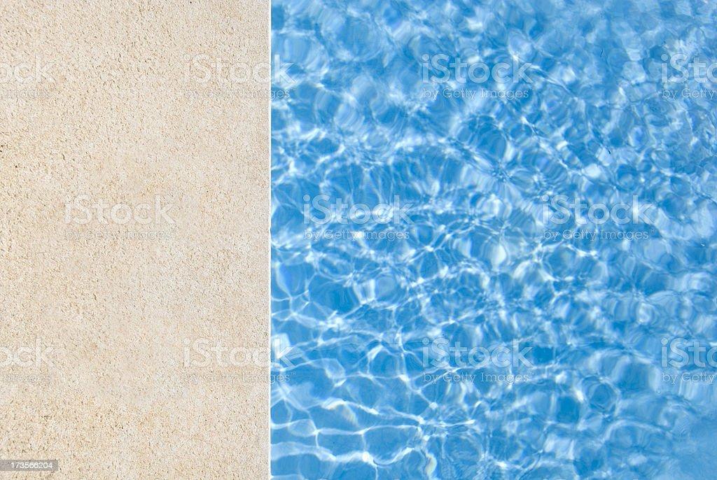 Let's swim stock photo