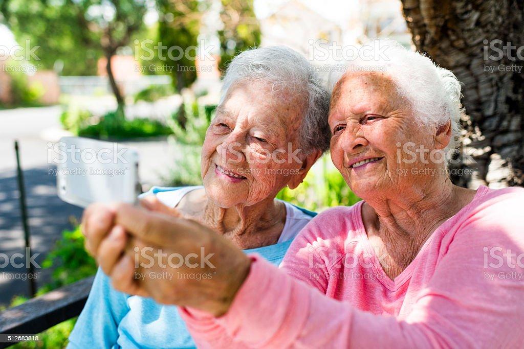 Let's Take A Selfie stock photo