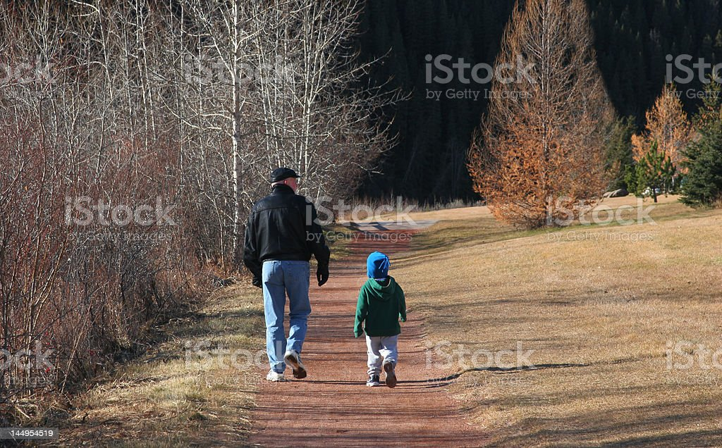 Let's Take a Stroll royalty-free stock photo