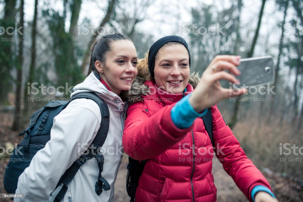 Let's take another selfie stock photo