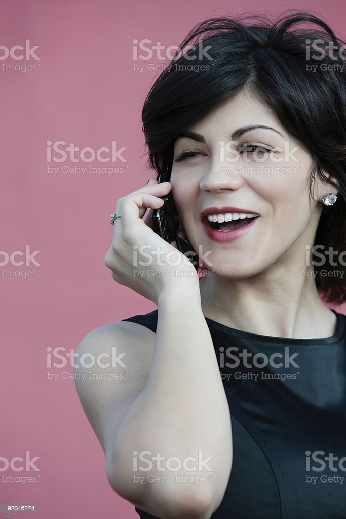 let's talk business royalty-free stock photo