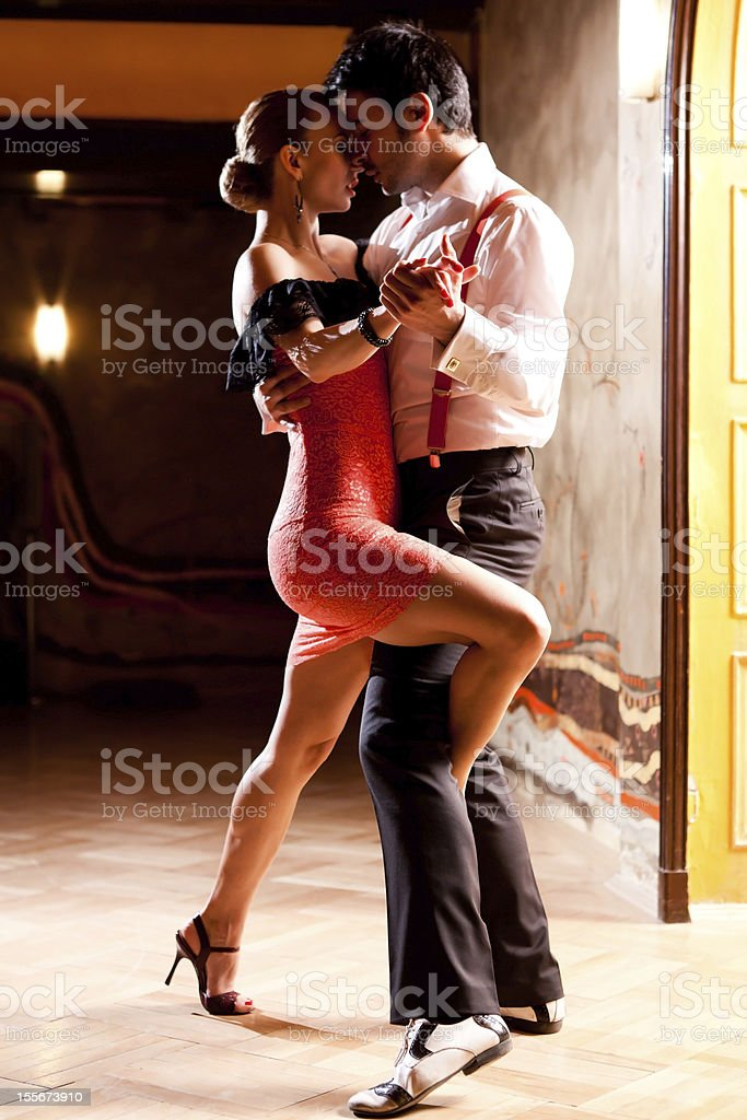 Let's Tango! stock photo