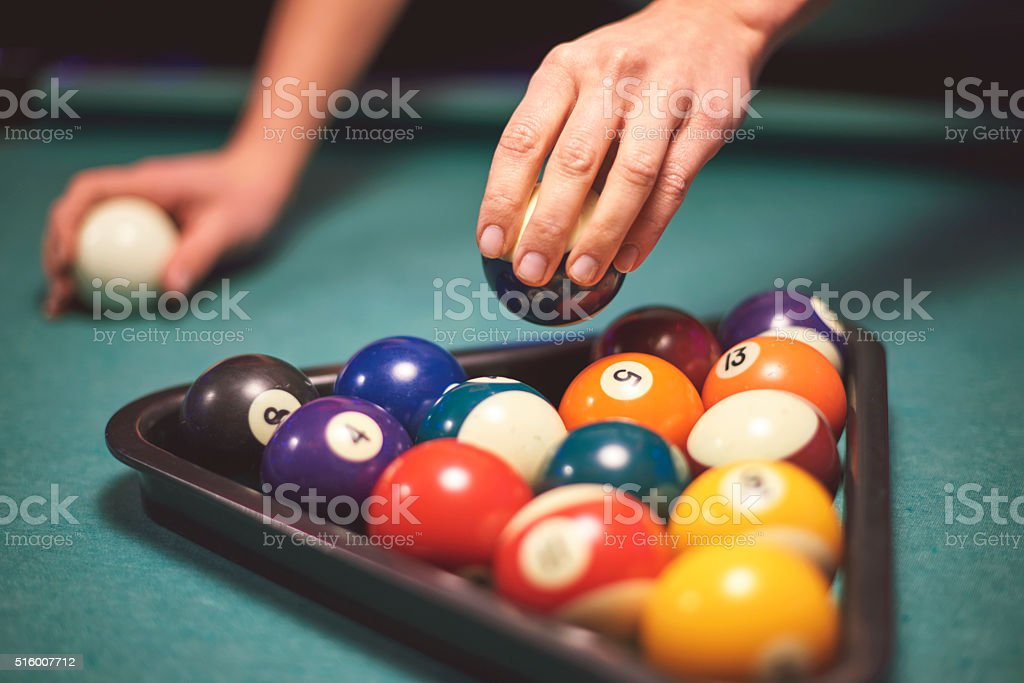 Let's the game begin now stock photo