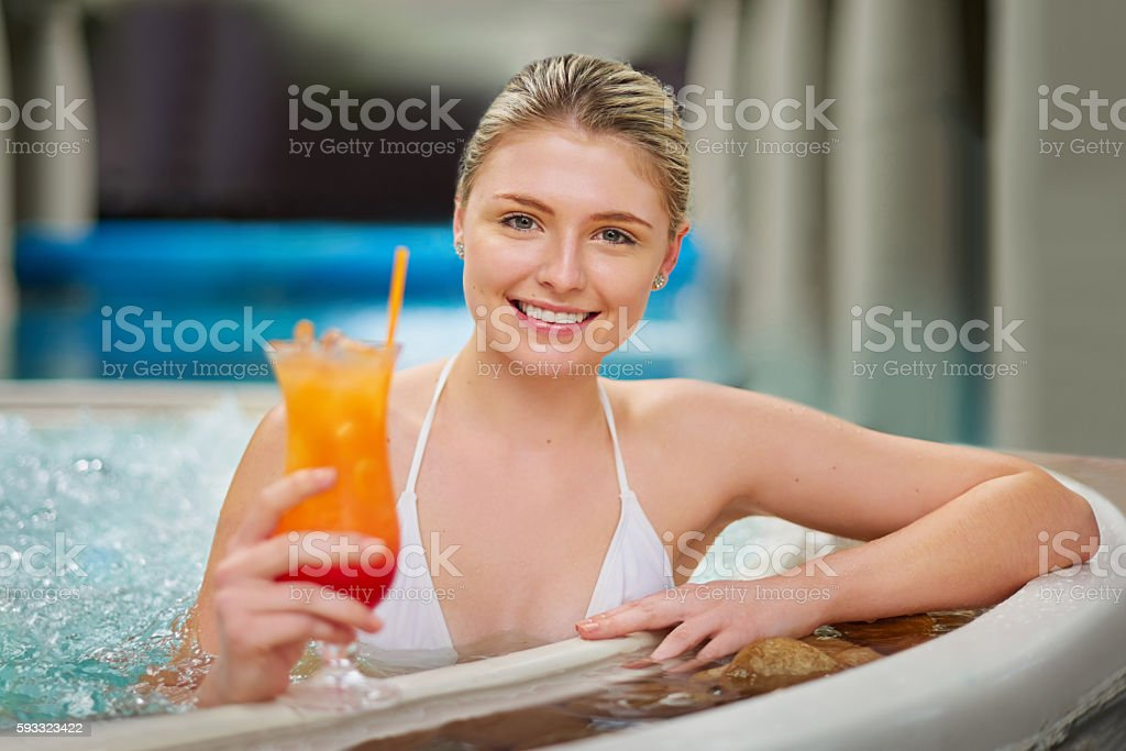 Let's toast to a day of luxury stock photo