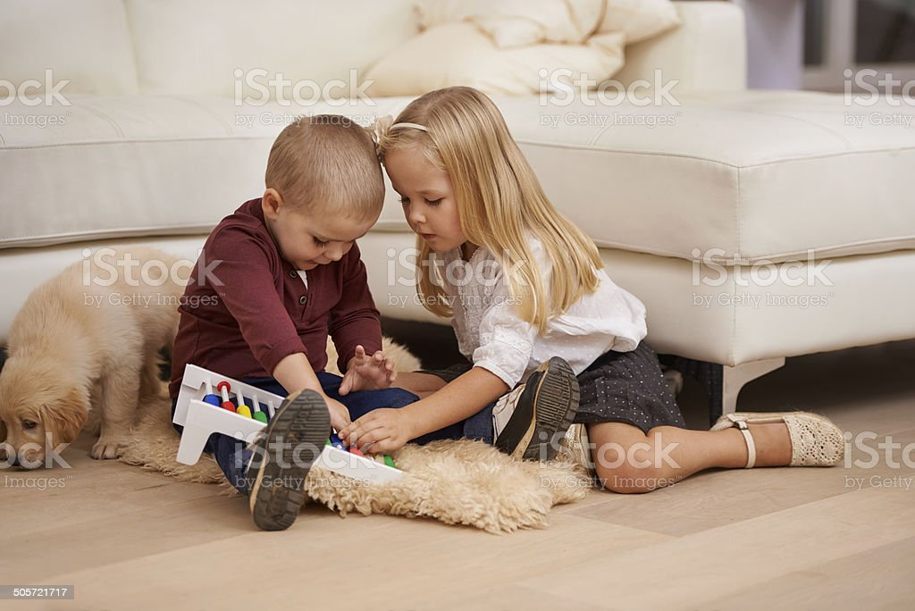 Let's work on our string theory proof stock photo