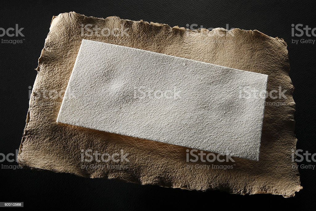 Letter and envelope royalty-free stock photo