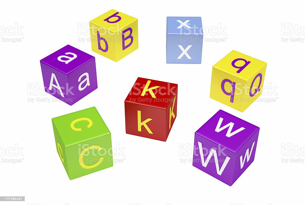 Letter Block royalty-free stock photo