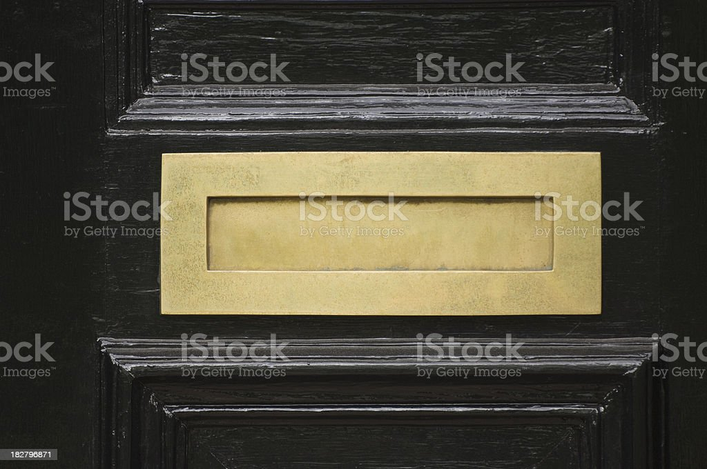 Letter box stock photo
