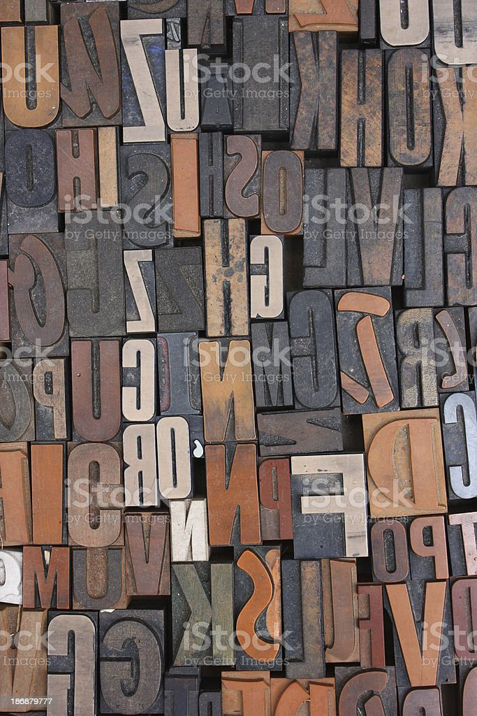 Letter case royalty-free stock photo
