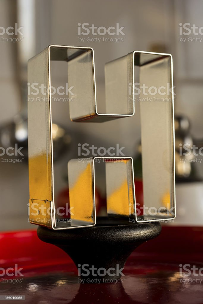 Letter H kitchen alphabet royalty-free stock photo