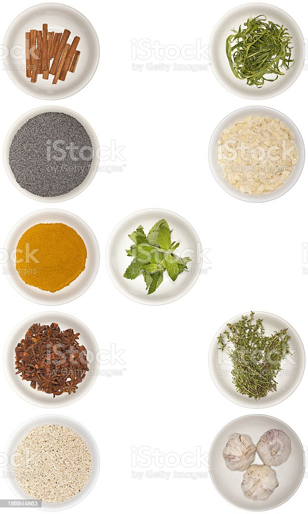 letter K - spice series royalty-free stock photo