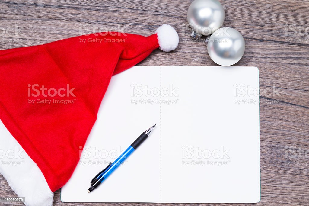 Letter of wishes stock photo