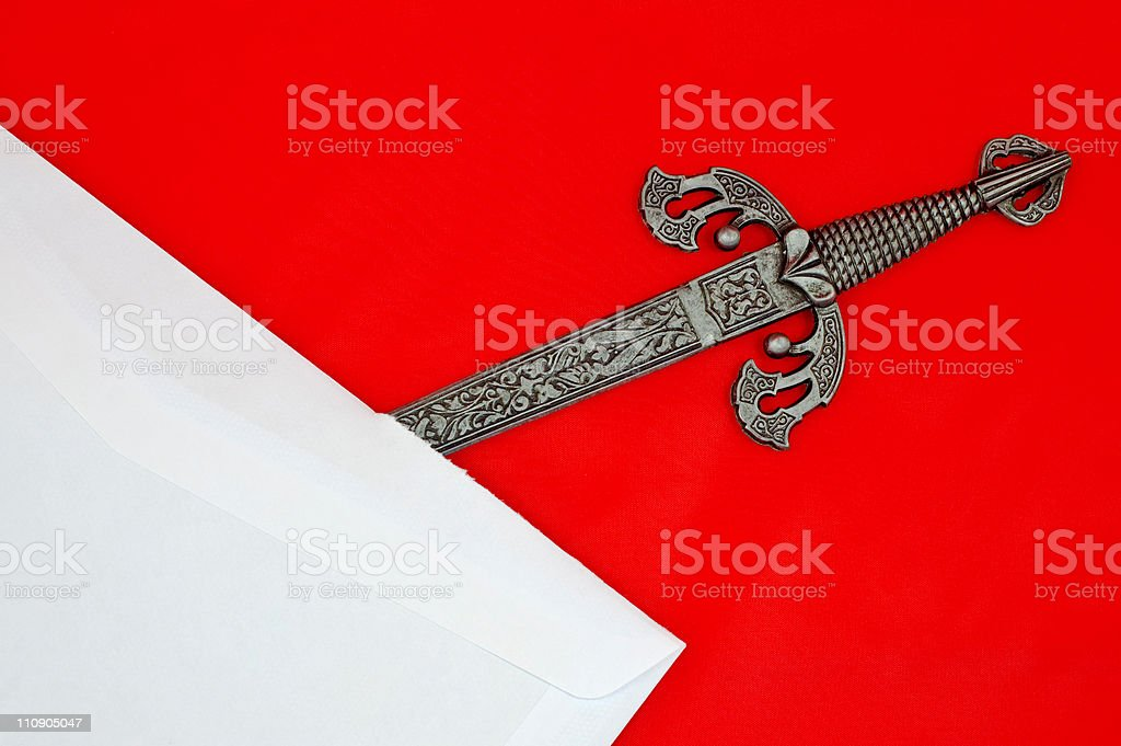 Letter Opener royalty-free stock photo