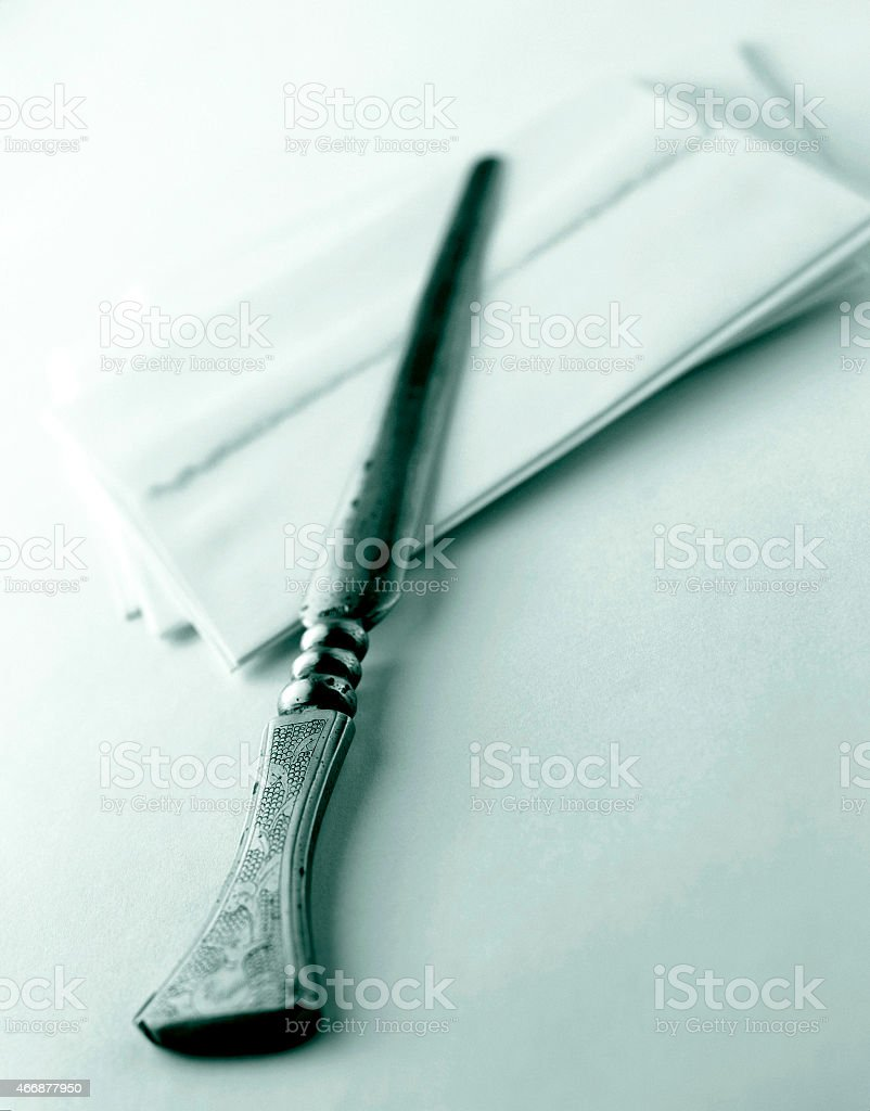 Letter Opener stock photo