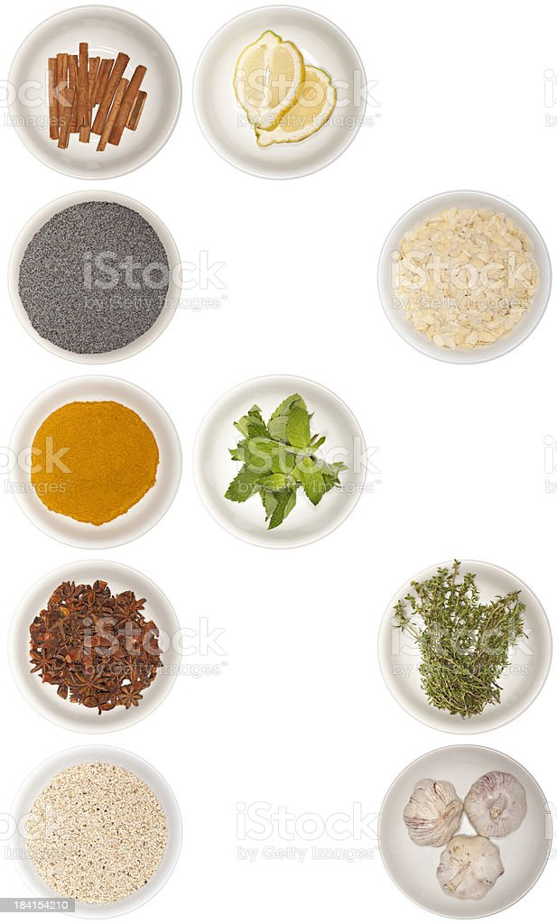 letter R - spice series royalty-free stock photo