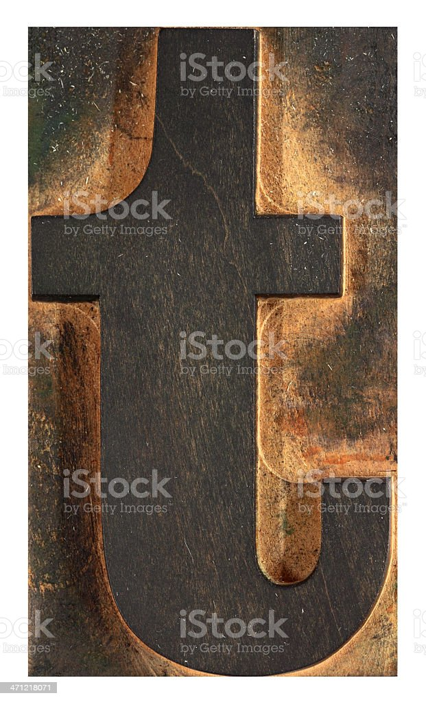 Letter 'T' royalty-free stock photo