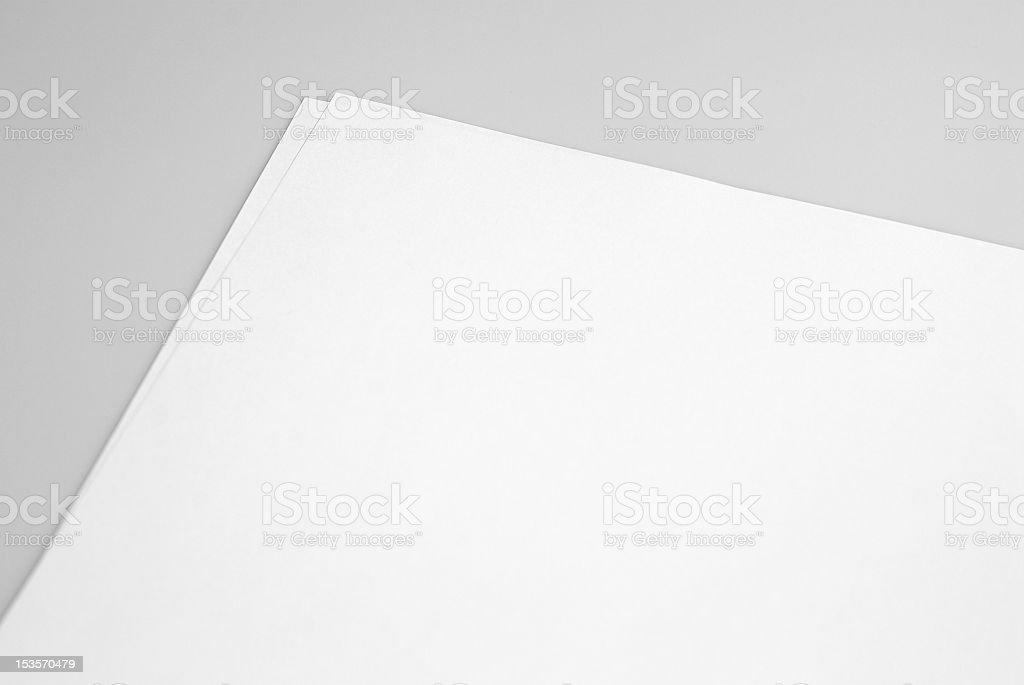 Letterhead stock photo